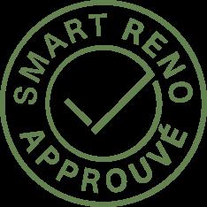 Badge Smart Reno approuvé