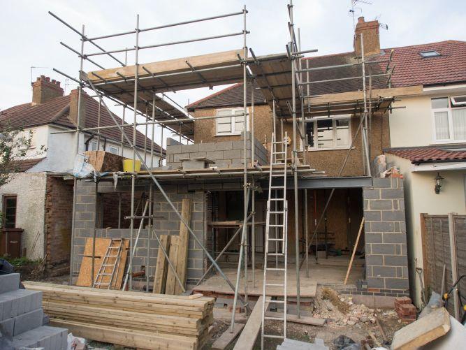 Home addition renovation