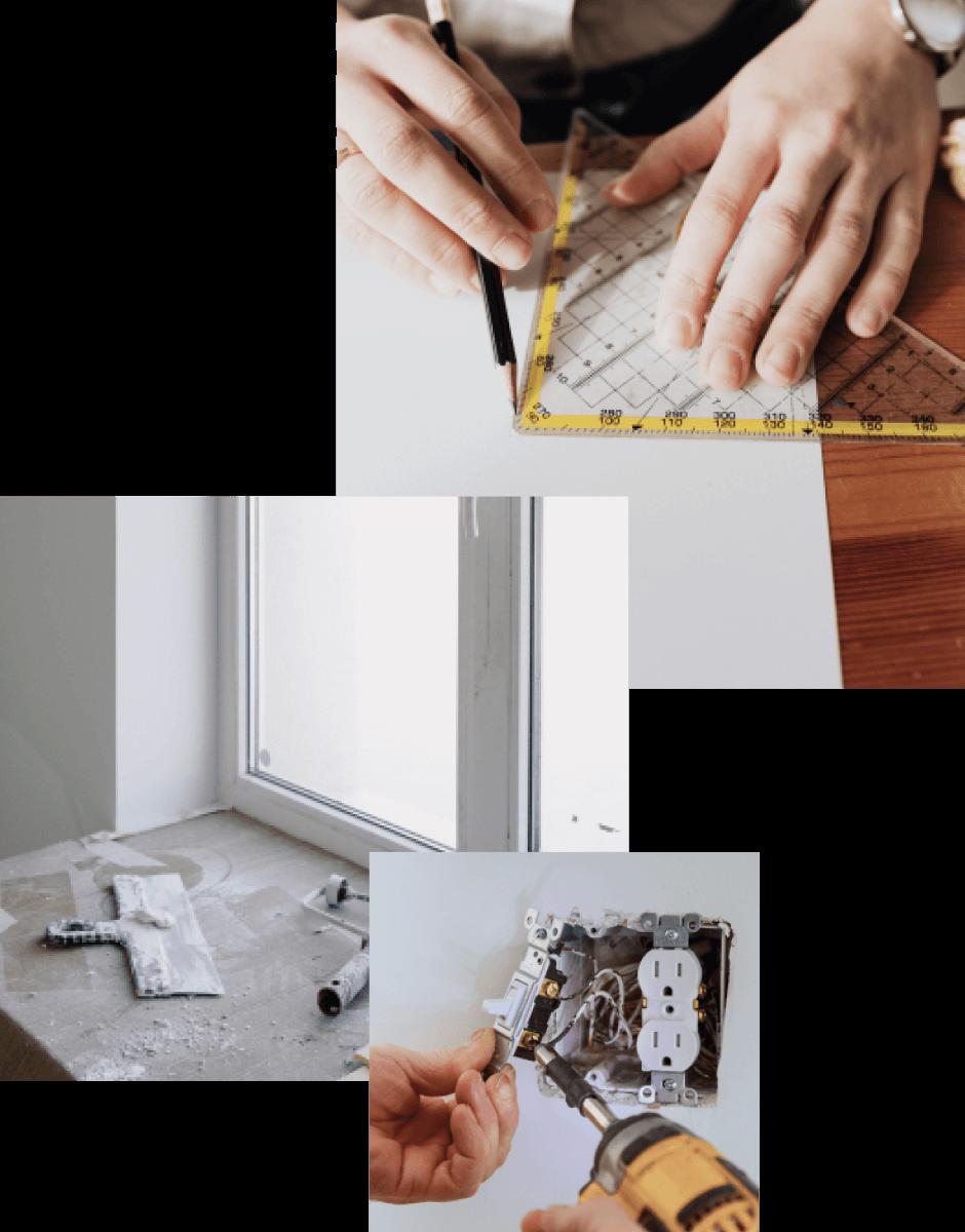 collage photos agrandissement
