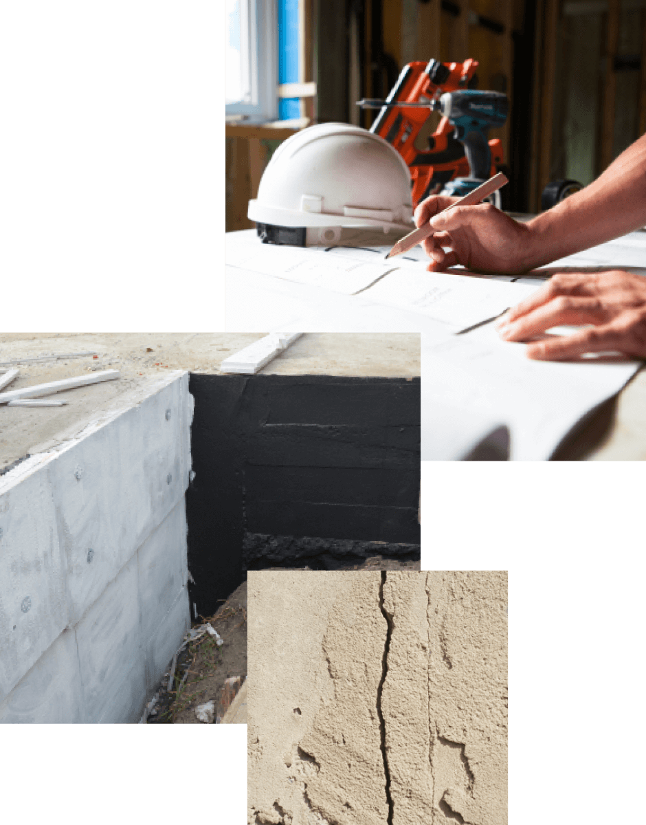 foundation concreate repair home basement